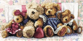 A Row Of Love Cross Stitch Kit