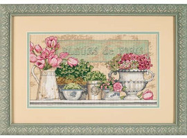 Flowers Of Paris Cross Stitch Kit