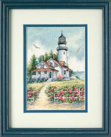 Scenic Lighthouse Cross Stitch Kit