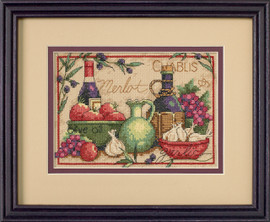 Mediterranean Flavors Cross Stitch Kit