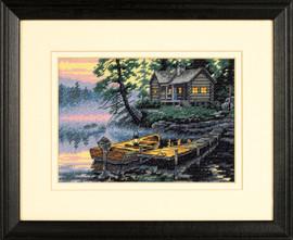 Morning Lake Cross Stitch Kit