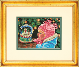 Christmas Wishes Cross Stitch Kit by Dimensions