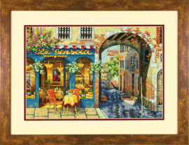 Charming Waterway Cross Stitch Kit By Dimensions