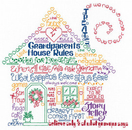 Let's Have Fun at Grandma's Chart By Ursula Michael