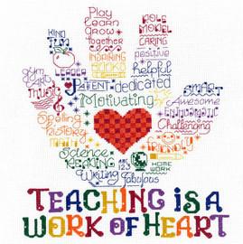 Let's Hug a Teacher Chart By Ursula Michael