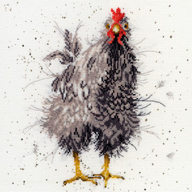 Curious Hen Cross Stitch Kit By Bothy Threads
