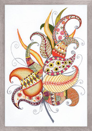 Magic Feather Emboidery Kit By Riolis