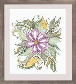 Lovely Flower Emboidery Kit By Riolis