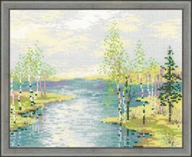 Estuary Cross Stitch Kit By Riolis