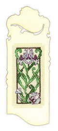 Blooming Iris Bookmark Cross Stitch Kit by Riolis