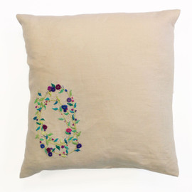 Sprig Spiral Embroidery Cushion Kit from DMC