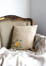 Secret Garden Embroidery Cushion Kit from DMC