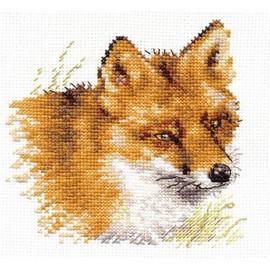 Fox Cross Stitch Kit by Alisa