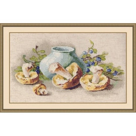 Gift of the forest Cross stitch Kit by Oven