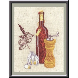 Kitchen Collection Cross Stitch Kit by Oven