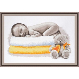Baby Sleep Cross Stitch Kit by Oven