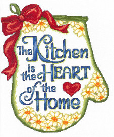 Heart of Home Cross Stitch Chart by Ursula Michael