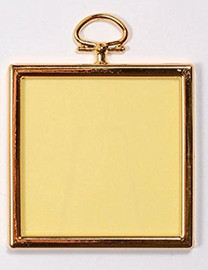 Square Plastic Frame for Crafts, Needlework & Photos By Framecraft
