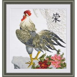Rooster Cross Stitch kit by Oven
