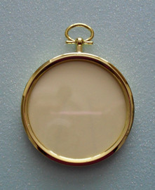 Round Plastic Frame for Crafts, Needlework & Photos
