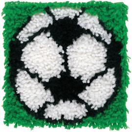 Football Latch Hook Kit by WonderArt