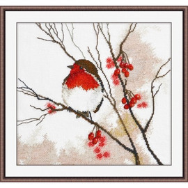 Robin Cross Stitch Kit by oven