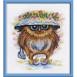 Girl Cross Stitch Kit by Oven