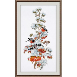 Winter Composition ll Cross Stitch Kit by Oven