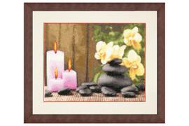 Fire Energy Cross Stitch Kit by Golden Fleece