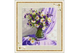 Lilac still life Cross Stitch Kit by Golden Fleece