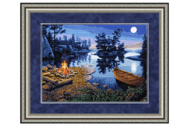Living Fire Cross Stitch Kit by Golden Fleece