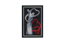 Love Cross Stitch Kit by Golden Fleece