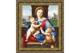 Madonna Alodobrandini Cross Stitch Kit by Golden Fleece