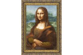 Mona Lisa Cross Stitch Kit by Golden Fleece