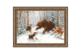 Owner of the Forest Cross Stitch Kit by Golden Fleece