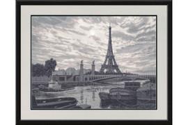 Paris Cross Stitch Kit by Golden Fleece