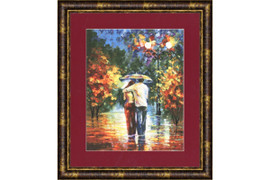 Romantic walk Cross Stitch Kit by Golden Fleece