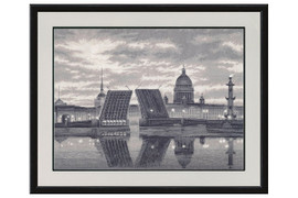 Saint-Petersburg Cross Stitch Kit by Golden Fleece