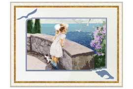 Smell of the sea Cross Stitch Kit by Golden Fleece