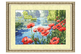 Summer Colours Cross Stitch Kit by Golden Fleece