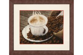 Tasty coffee Cross Stitch Kit by Golden Fleece
