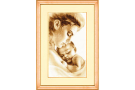 Tenderness Cross Stitch Kit by Golden Fleece