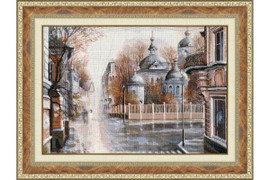 The Master and Margarita Cross Stitch Kit by Golden Fleece