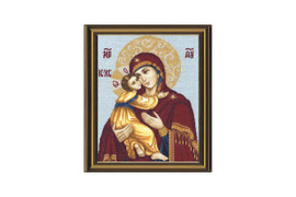 Vladimir Icon of the Mother of God Cross Stitch Kit by Golden Fleece