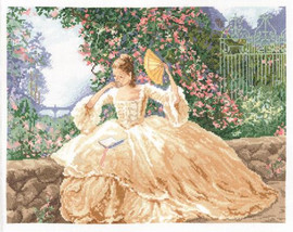 Ringlets and Roses Cross Stitch Kit By Janlynn