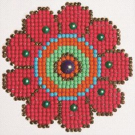 Flower Power Craft Kit By Diamond Dotz