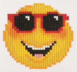 Smiling Face Craft Kit By Diamond Dotz
