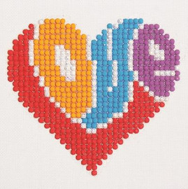 Love Craft Kit By Diamond Dotz