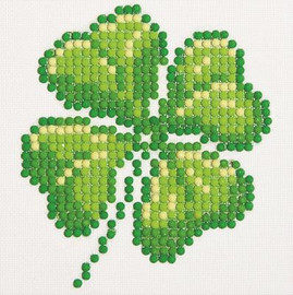 Four Leaf Clover Craft Kit By Diamond Dotz