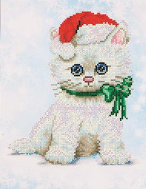 Chrissy Kitty Craft Kit By Diamond Dotz